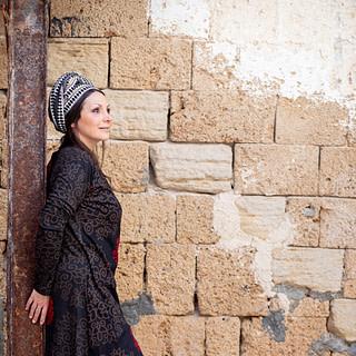 פאלין שמלת מעטפת חורפית