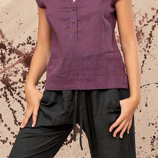 חולצת כותנה מכופתרת ארטוריה