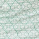 Arabic style green pattern