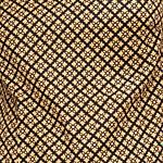 black and whit geometric print